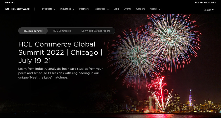 HCL Commerce Insights Landing Page