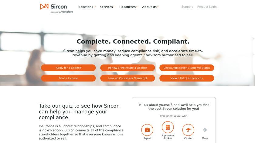 Sircon Landing Page