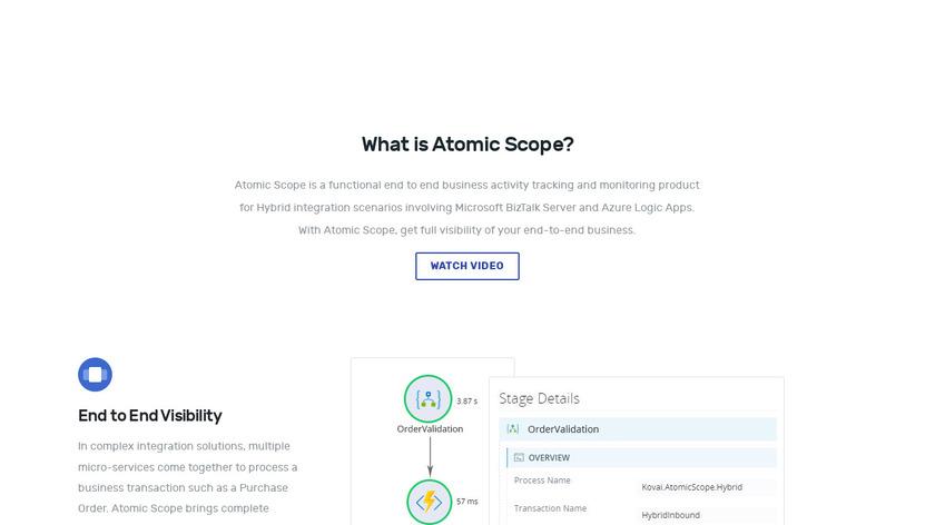Atomic Scope Landing Page