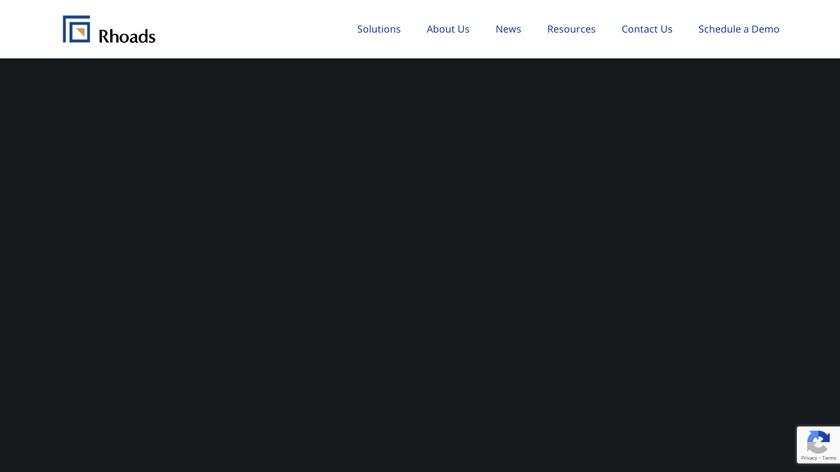 Rhoads PCRM Landing Page