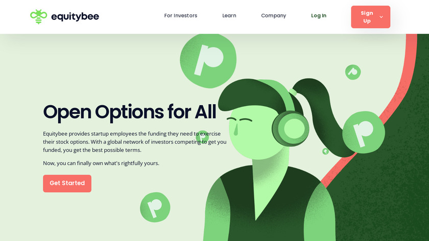 EquityBee Landing Page