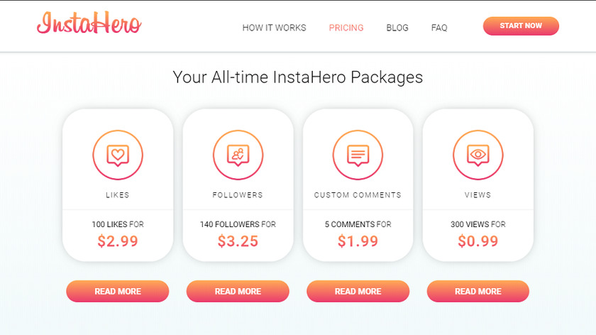 InstaHero24 Pricing