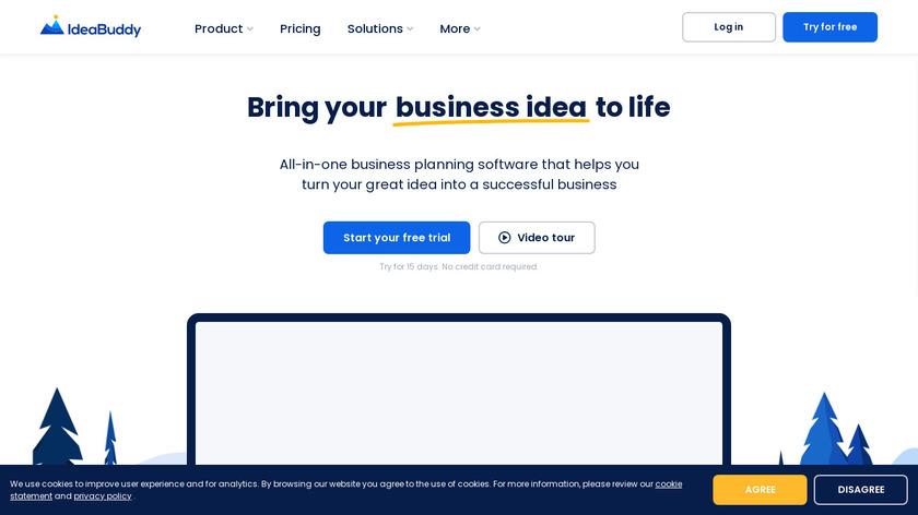 IdeaBuddy Landing Page