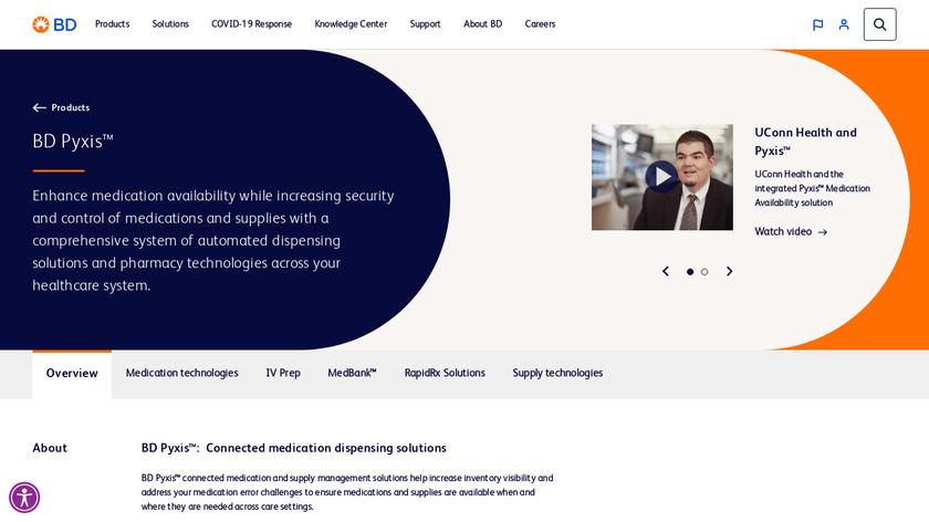 Pyxis Landing Page
