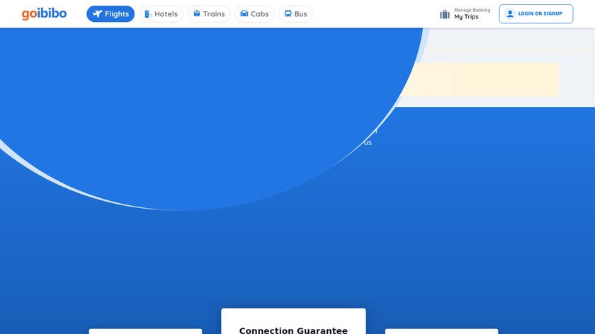 Goibibo Landing Page