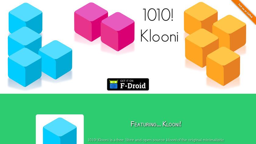 1010! Klooni Landing Page