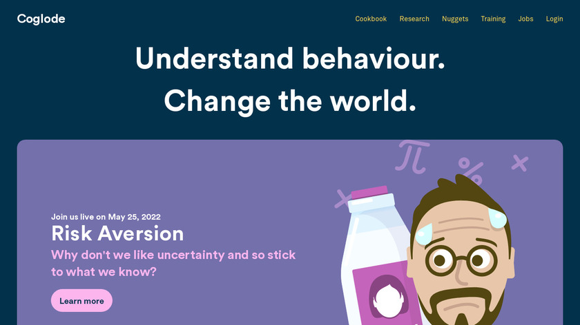 Cognitive Lode Landing Page