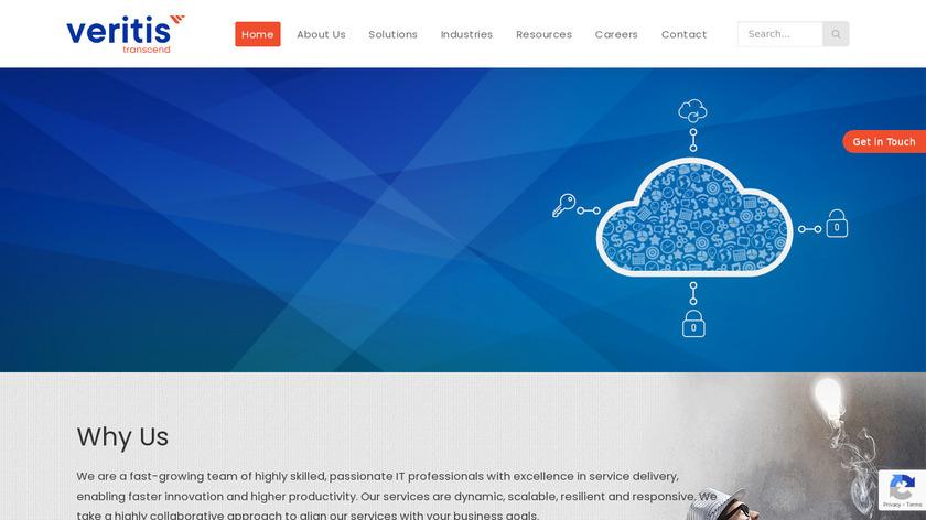 Veritis Group Inc Landing Page
