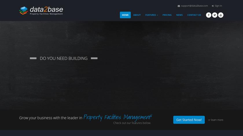 Data2Base Landing Page