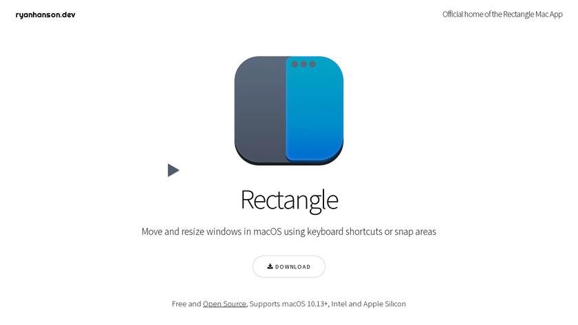 Rectangle Landing Page