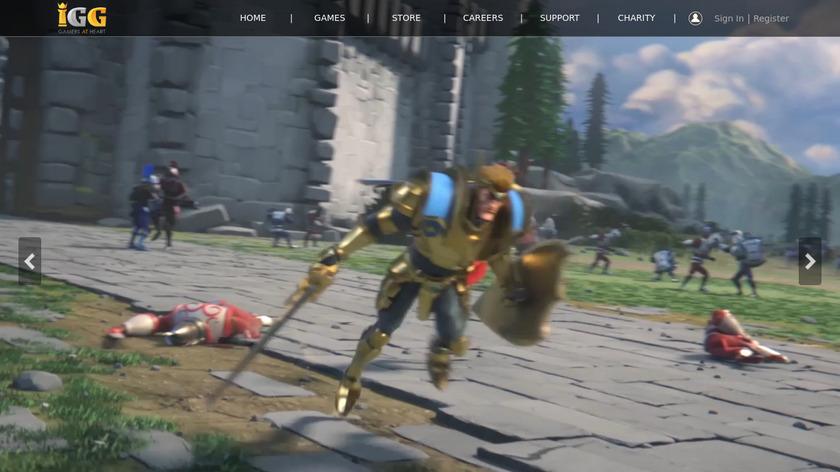 Deck Heroes: Legacy Landing Page