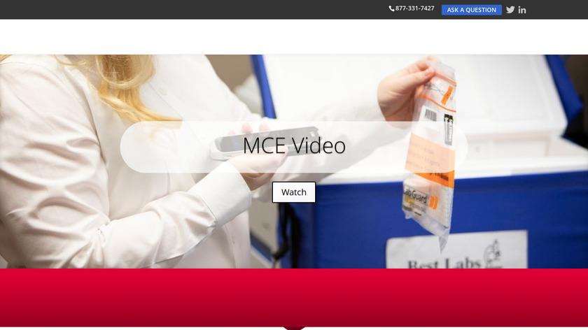 Medical Courier Elite Landing Page