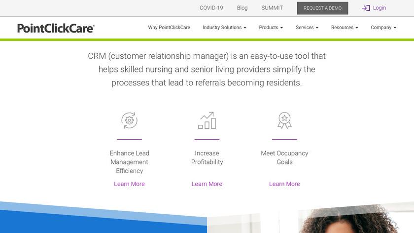 PointClickCare Marketing Landing Page