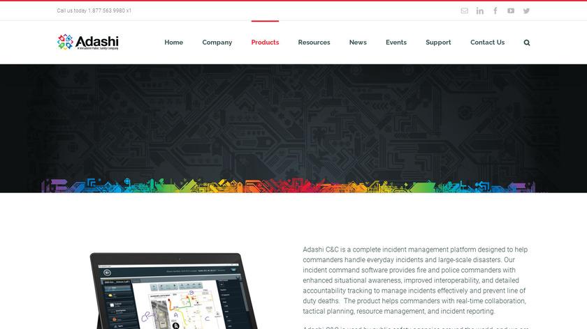 Adashi C&C Landing Page