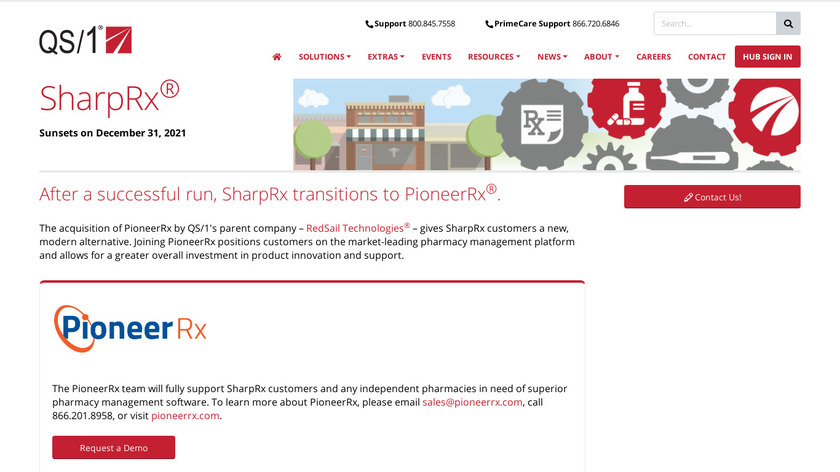 SharpRx Landing Page