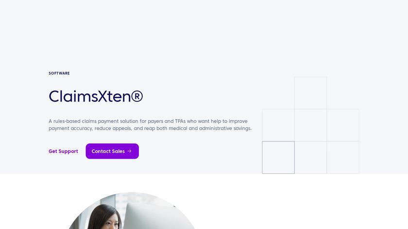 ClaimsXten Landing Page