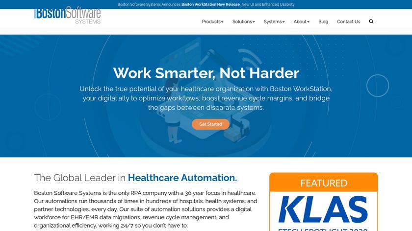 Boston Workstation Landing Page