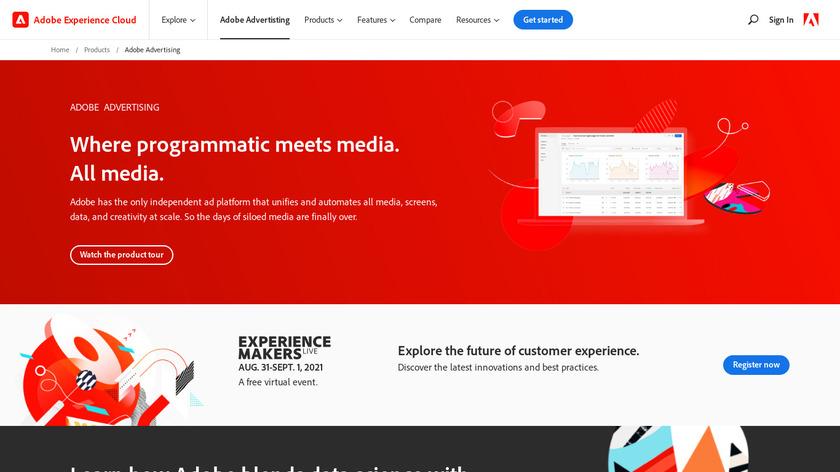 Adobe Advertising Cloud Landing Page