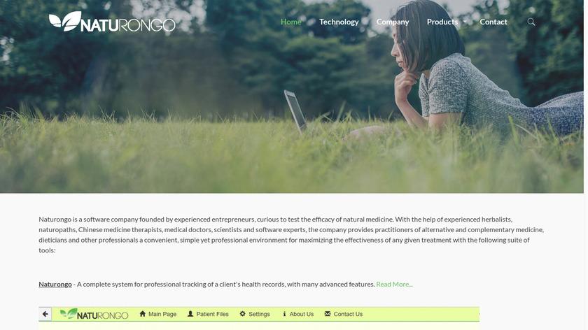Naturongo Landing Page