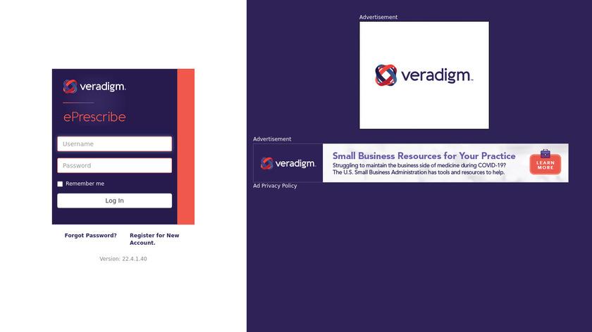 Veradigm Landing Page