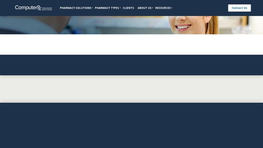 WinRx Landing Page