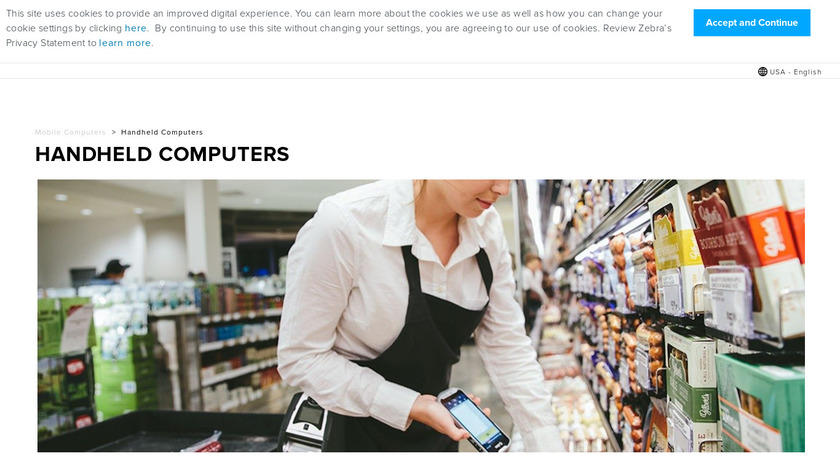 Handheld Mobile Computing Devices Landing Page