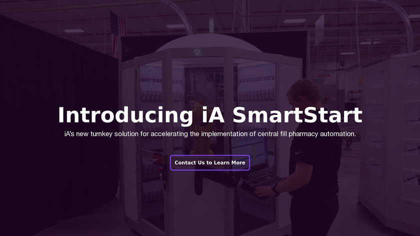 PharmASSIST Symphony Systems Landing Page