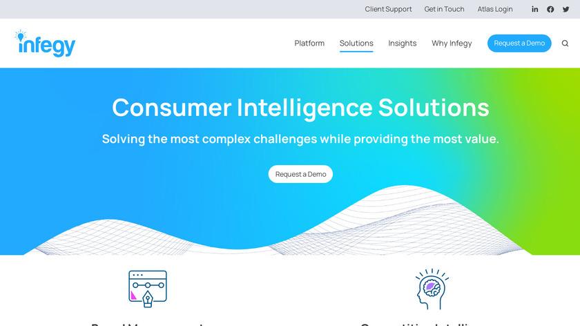 Infegy Atlas Landing Page