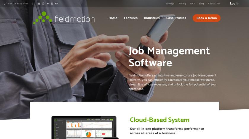 Fieldmotion Landing Page