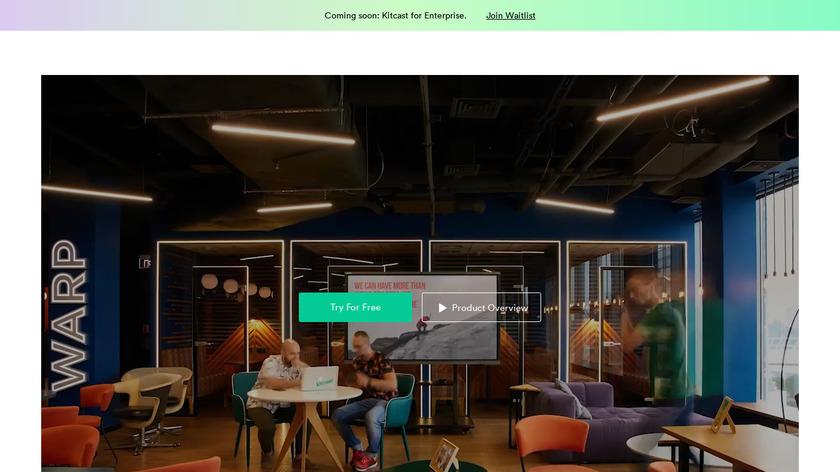 Kitcast Tv Landing Page