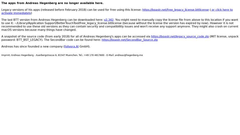 BetterSnapTool Landing Page
