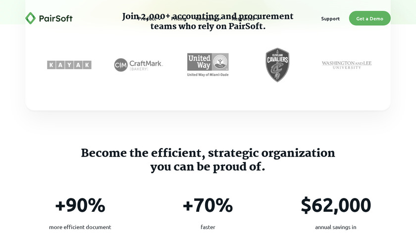 PaperSave Landing Page