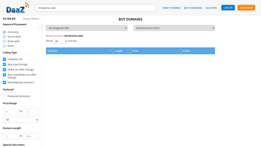 Innotoria Tower Defense Landing Page