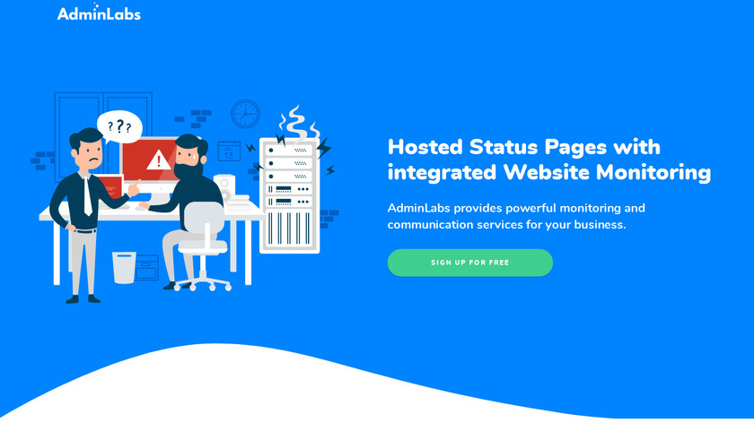 Admin Labs Landing Page