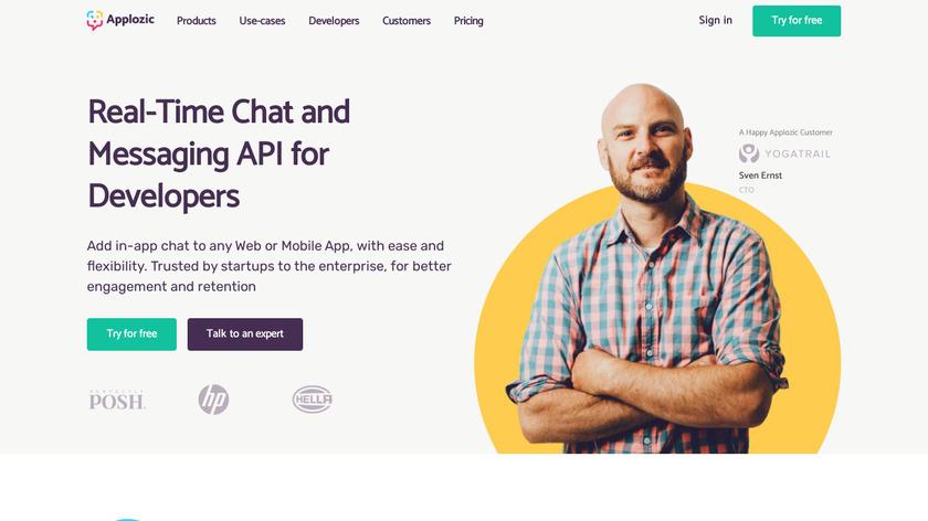 Applozic Landing Page