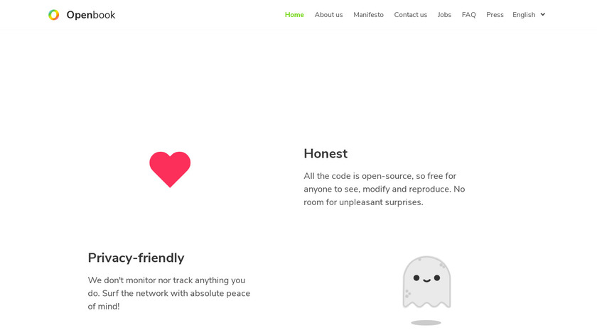 Openbook Landing Page