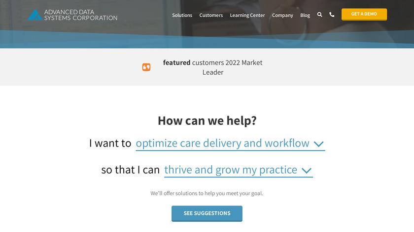 MedicsDocAssistant Landing Page