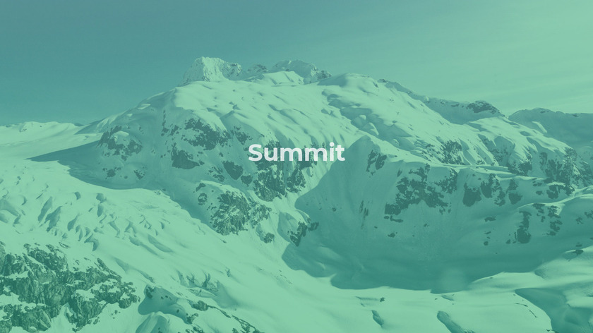 Summit Landing Page