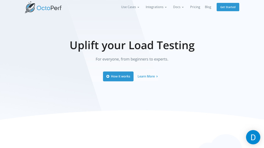 OctoPerf Landing Page
