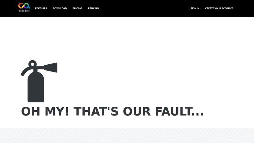 Codealike Landing Page