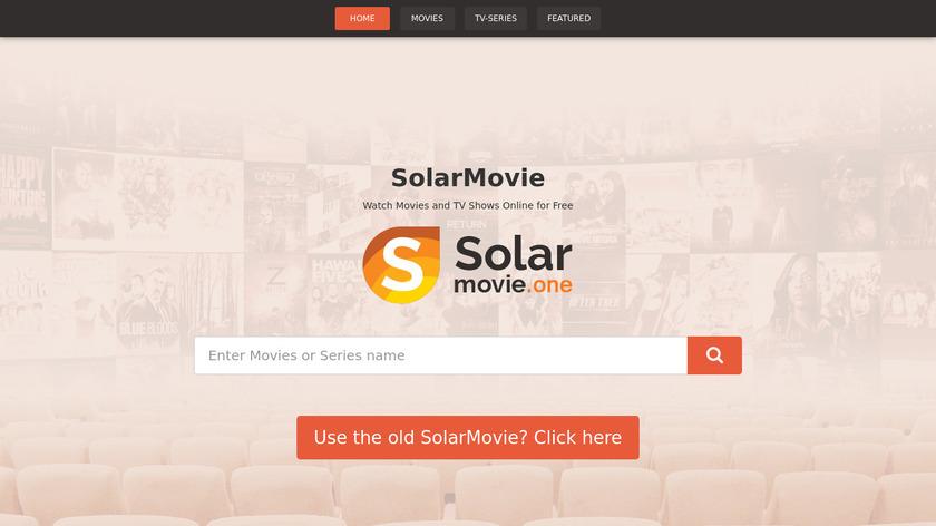 SolarMovie Landing Page