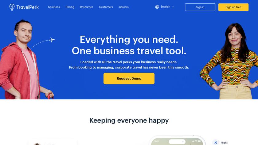 TravelPerk Landing Page