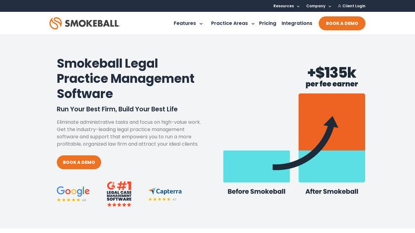 Smokeball Landing Page