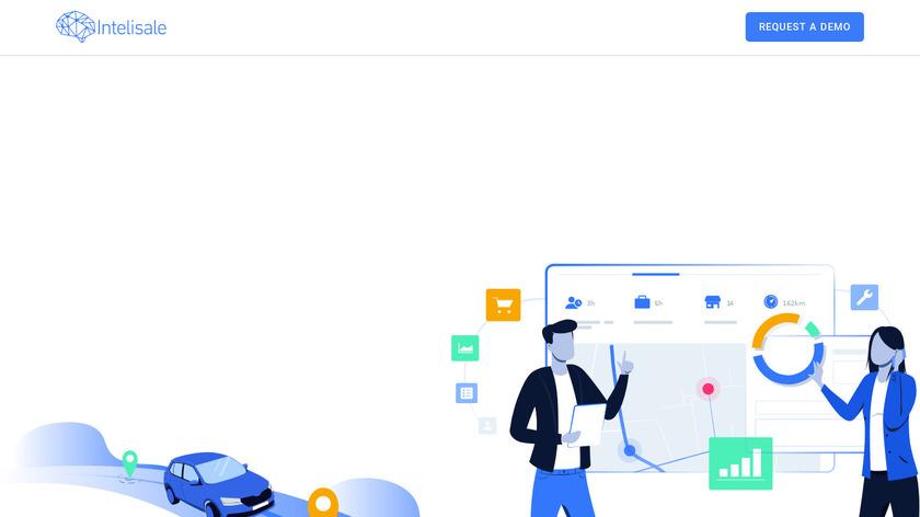 Intelisale Landing Page