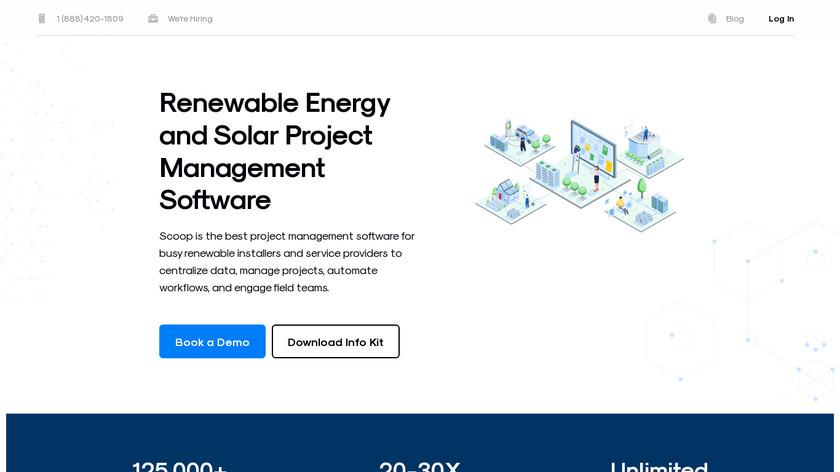Scoop Solar Landing Page
