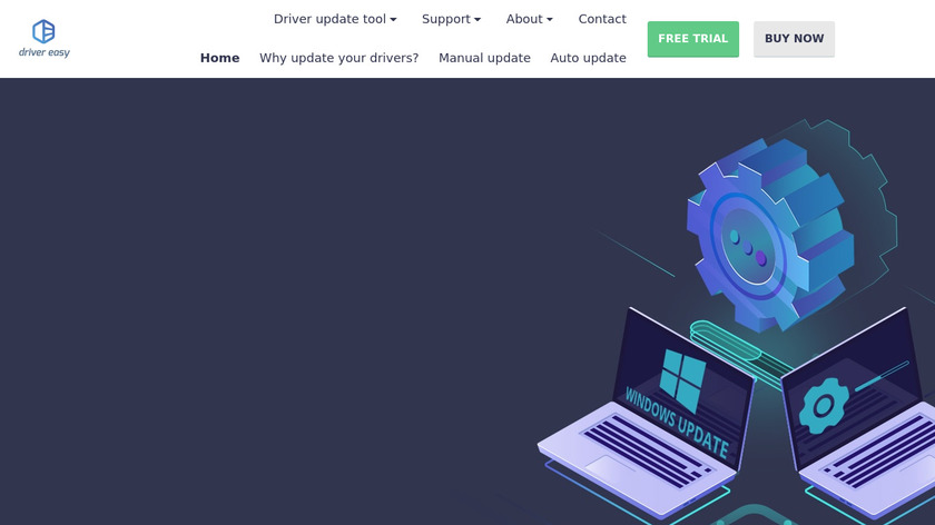 Driver Easy Landing Page