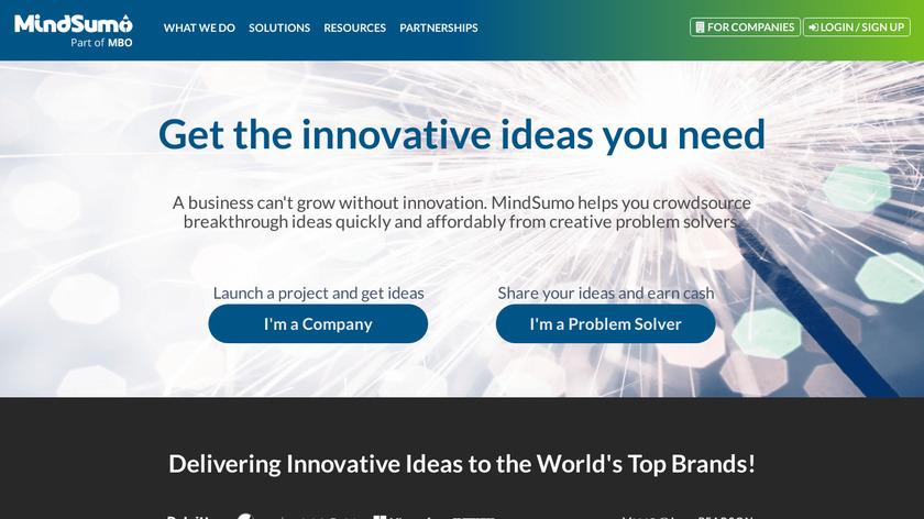 MindSumo Landing Page