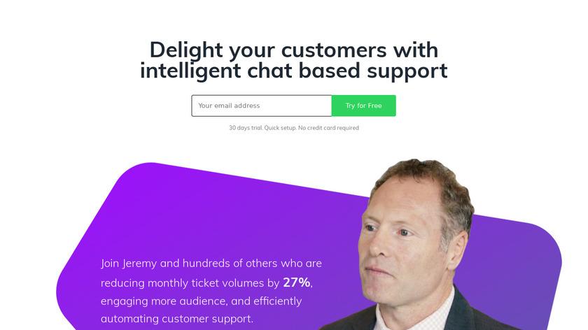 Kommunicate Landing Page
