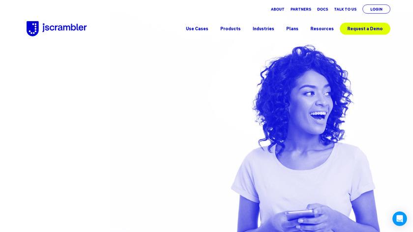 Jscrambler Landing Page