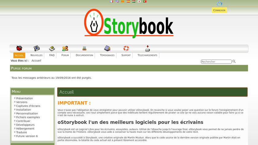 oStorybook Landing Page